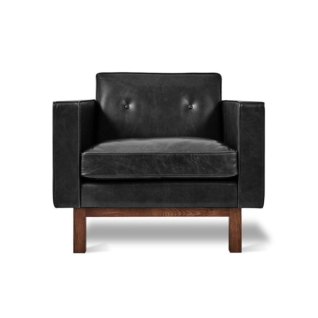 Embassy Chair | Saddle Black Leather