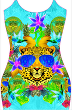 Load image into Gallery viewer, Leopard with Shades Dress - amazonezz
