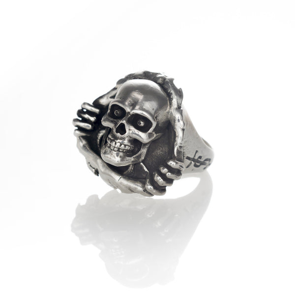 'Ripper' ring - .925 Sterling Silver
