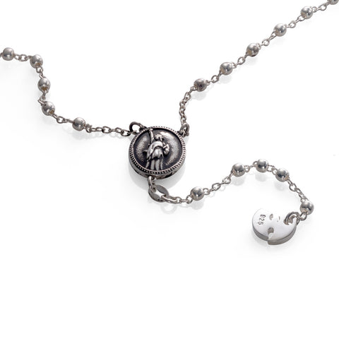 'Wu' rosary - .925 Sterling Silver