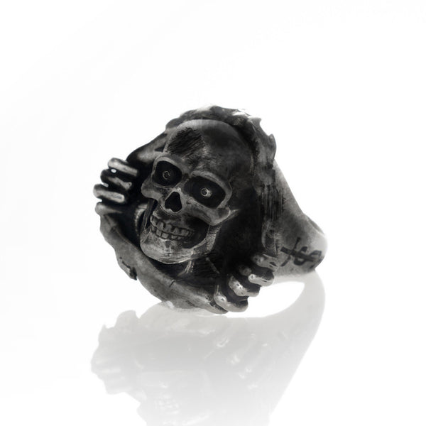 'Ripper' ring - Gunmetal