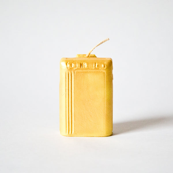 El Señor x Wick And Wax 'Gold Beeper' Wax