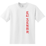 'LM Chino Red' t-shirt