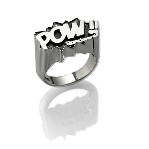 'Power' ring - .925 Sterling Silver