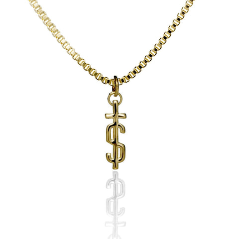 'S-Cross' Pendant - Gold Plated