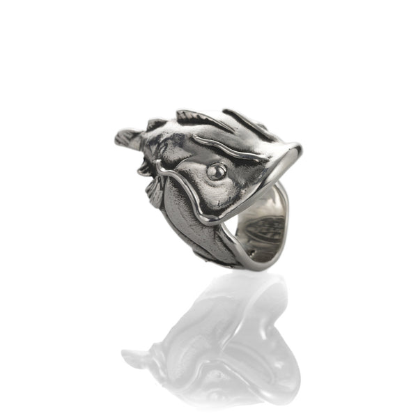 Yelawolf 'Catfish Billy' ring .925 Sterling Silver