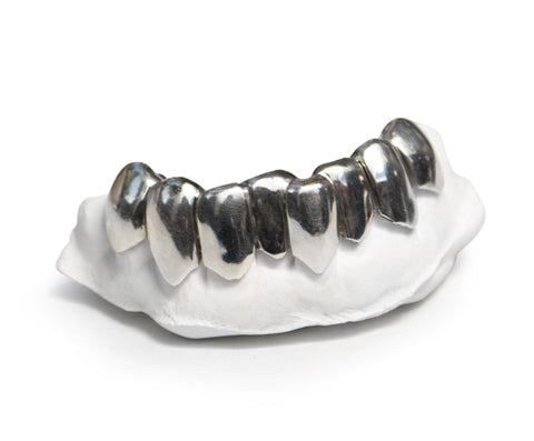 'Grillz' Custom Fit Solid .925 Sterling Silver