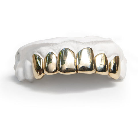 'Grillz' Custom Fit 10k Solid Gold