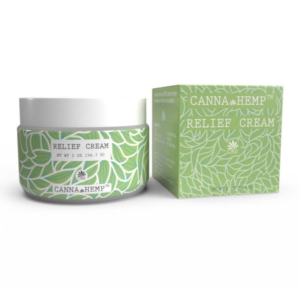 Canna Hemp CBD Relief Cream (250mg)