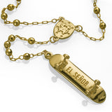 'Stevie Williams' rosary - 14K Solid Gold