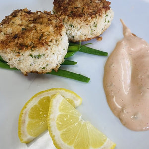 Scarborough Fair Crab Cakes