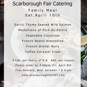 Scarborough Fair Wild Salmon & Pork Au Poivre