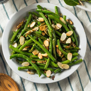 Scarborough Fair French Beans w/ Almonds