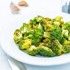 Scarborough Fair Garlic Roasted Broccoli