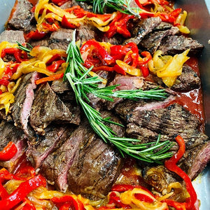 Grilled Steak Pomodoro
