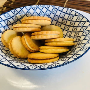 Scarborough Fair Lemon Creme Cookies
