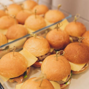 Scarborough Fair Mini Cheeseburgers