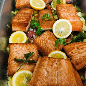 Pan Roasted Wild Salmon