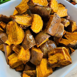 Scarborough Fair Roasted Sweet Potatoes