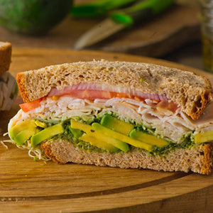 Scarborough Fair Turkey Avocado Sandwich