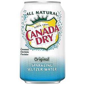 Canada Dry Sparkling Seltzer Water