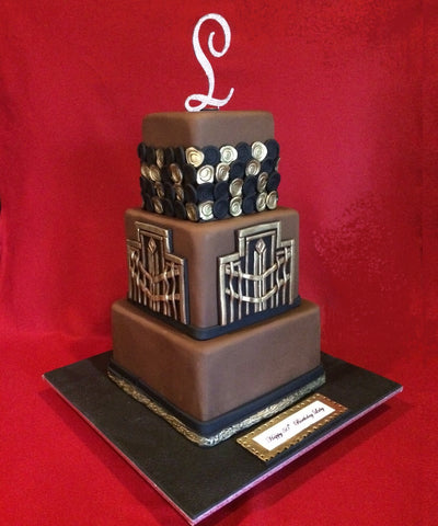 The Art Deco Birthday Cake