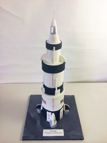 Apollo 11 Birthaday Cake