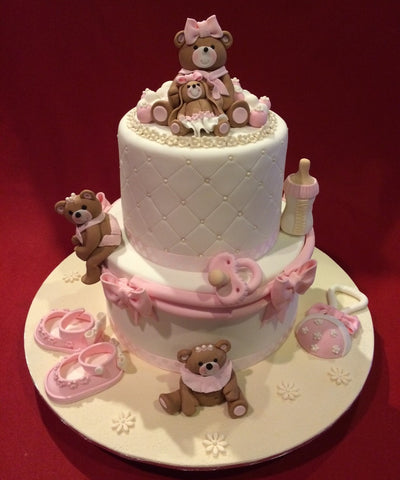 Love You Forever Baby Shower Cake