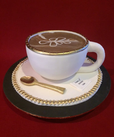 Coffee Cup Novelty Cake