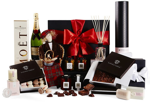 Deluxe Gourmet Gift Hamper with Hand Made Doll by Glorieux Cadeau