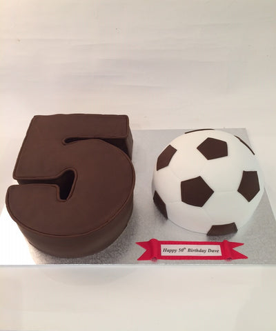 The Fifty Birthday Cake