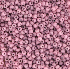 Japanese Seed Beads Size 11-7399C Opaque Matte - Rose