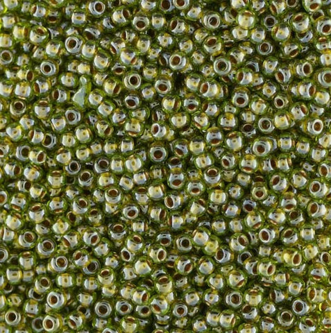 Japanese Seed Beads Size 11-0767B Colorlined -