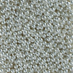 Japanese Seed Beads Size 11-Metal Bead Silver Plate (16gr tube)