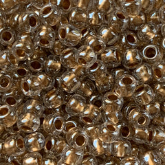 Japanese Seed Beads Size 6-378 - Shimmer Gold