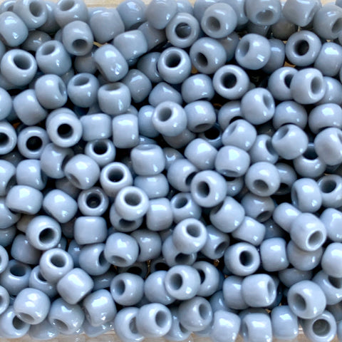 Japanese Seed Beads Size 6-416A - Opaque Light Grey