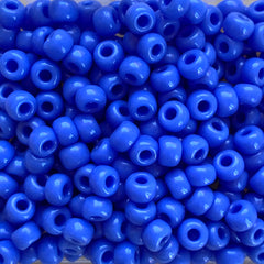 Japanese Seed Beads Size 6-417A - Opaque Periwinkle Blue