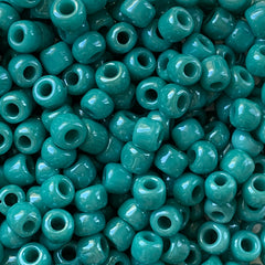 Japanese Seed Beads Size 6-430F - Luster Turquoise