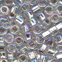 Japanese Seed Beads Size 6-635 - Silverlined Rainbow - Crystal