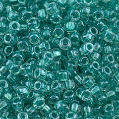 Japanese Seed Beads Size 8-708 - Shimmer Light Teal ICL