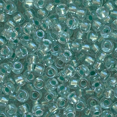 Japanese Seed Beads Size 8-782- Shimmer Light Aqua ICL