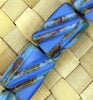 Czech Picasso-8x13m-Blue - 15 pcs