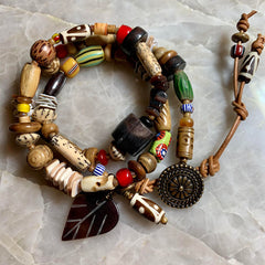 Finished Jewelry- Bracelet - African Bracelet 1
