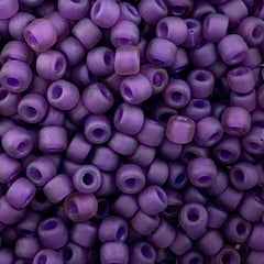 Japanese Seed Beads Size 8 - F399I Transparent Matte - Lilac