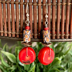 Finished Jewelry- Earrings - Tribal