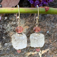 Finished Jewelry- Earrings - Ice Cube Earrings