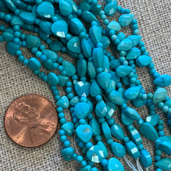 Gemstone Beads - Sleeping Beauty - 16 Inch strand