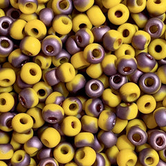 Unique Seed Beads -  Japanese Size 6 Y853F SunshineApollo Matte - 16 Grams