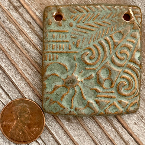 Ceramic Pendants - 45x40 Asian - A05