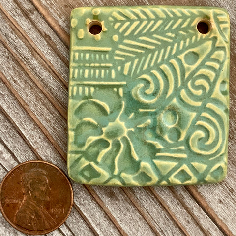 Ceramic Pendants - 45x40 Asian - A06